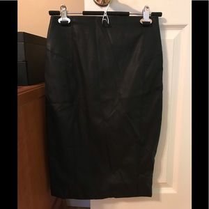 High Waisted Seamed (Minus the) Leather Skirt